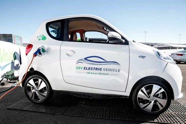 Voiturette electrique : moins polluer et consommer